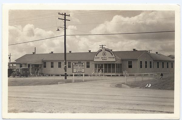 Austinpostcard camp swift station hospital near bastrop